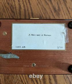 REUGE Sainte-Croix SWISS MUSICAL MOVEMENT Music Box No. 1285 AB 2/50