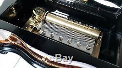 REUGE Serpentine Case Music Box (Video Inc.)