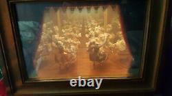 REUGE Switzerland Miroir Magique Danseurs 1778 Dancers Mozart Music Box CH 2/50