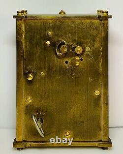 Rare Jaeger Lecoultre 8 Day Musical Alarm Clock Reuge Music Box Lucite. (2440)