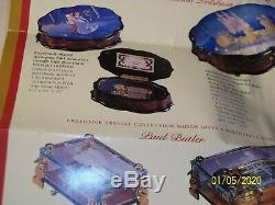 Rare Reuge 36 Note Walt Disney Music Box NEW Limited Edition No. 086/250
