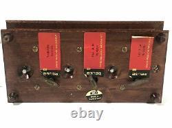 Rare Reuge Beatles Triple Music Box Yesterday Hey Jude Let It Be Mde Switzerland