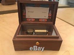 Rare Reuge Music Box W. A. Mozart Glockenspiel 1 / 36 Made in Switzerland