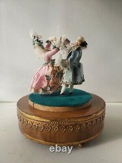 Rare Vintage Louis Vuitton Reuge Music Box Automaton Dancers