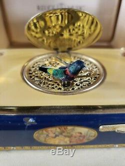 Rare Vintage REUGE MUSIC 4471 Singing Musical Animated Bird Automaton Music BOX