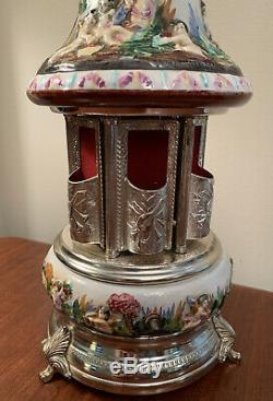 Rare Vintage REUGE MUSIC Musical Carousel Cigarette Holder Working
