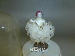 Rare Vintage Swiss Thorens (Pre Reuge) Dancing Ballerina Music Box Automaton
