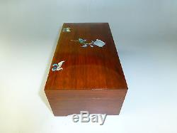 Rare Vintage Swiss Thorens (pre Reuge) Music Box 72 Key 3 Songs (watch Video)