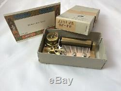 Reuge 2 song 50 Note musical movement for music box, Whither thou Goest (Video)