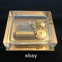 Reuge 36 Note Crystal Glass Music Box