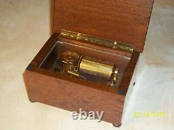 Reuge 36 Note Music Box Beautiful Condition Christmas Gift