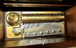 Reuge 37238 Swiss Ch3/72 Musical Jewelery Box G. F. Handel Sorrento Italy Signed