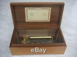 Reuge 3/50 cylinder music box Spieluhr Walzenspieluhr Romanze Walzenspieldose