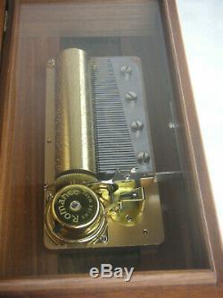Reuge 3/50 cylinder music box Spieluhr Walzenspieluhr Thorens Walzenspieldose