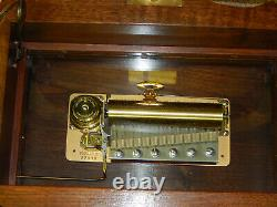 Reuge 3/72 Gazo Clock Music Box, 72 Note