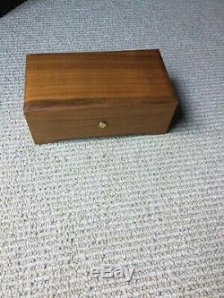 Reuge 3/72 Note Solid Mahogany Music Box Excellent Condition Pour/Für Elise