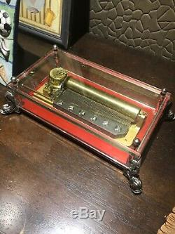 Reuge 3/72 Note Vintage Music Box (Plays The Thieving Magpie) WATCH VIDEO
