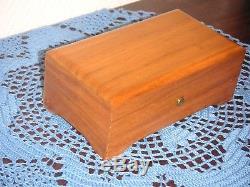 Reuge 3/72 Walzenspieluhr Walzenspieldose Spieldose Swiss Cylinder Music Box