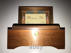 Reuge 3 Song/ 36 Note Music Box