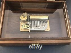 Reuge 3 Tune Music Box 1950, Sound Of Music 3/36, 33640