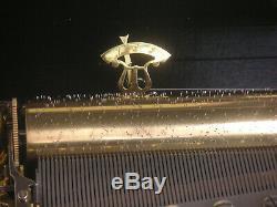 Reuge 72/3 cylinder music box Spieluhr Spieldose Walzenspieluhr Walzenspieldose