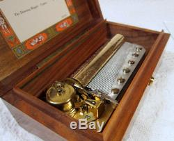 Reuge 72 Note Music Box 3 Parts The Thieving Magpie G. Rossini