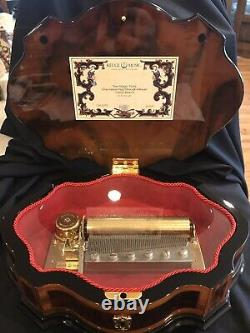 Reuge 72 note music box Made In Switzerland