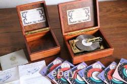Reuge AD30 With7 Discs Vintage Music Box Free Shipping From Japan WithTracking 7080N
