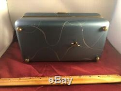 Reuge Art Deco Mirror Spinning Ball Room Dancers 2 Aires Music Box VIDEO