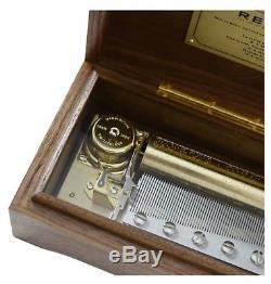 Reuge Auberson 3.7 Music Box 1/72 Walzen Spieluhr 3 Melodien Chopin