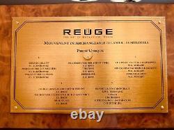 Reuge Baroque 15 Songs Interchangeable Cyl. Music Box Piece Unique (exclusive)
