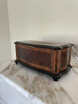 Reuge Baroque Music Box Floral $16,000 Pristine Condition, Switzerland, Box Papers