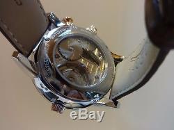 Reuge Boegli Grand Opera Musical Music Box Skeleton Automatic Watch Watch Video