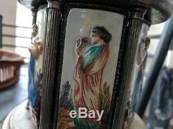 Reuge Carousel Music Box Vintage Cigarette Lipstick Holder My Fair Lady
