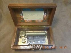 Reuge Ch 3/50 L'auberson Music Box Tchaikovsky Nutcracker Tunes (see Video)