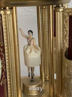Reuge Cigarette Holder Carousel Music Box Vintage Love story Ballerina dances /8