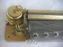 Reuge Cylinder Music Box 3/72 Walzenspieluhr Walzenspieldose Ave Maria Spieldose