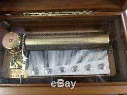 Reuge Cylinder Music Box CH 3/72 Piano Concerto No 2 3 Parts S Rachmaninov