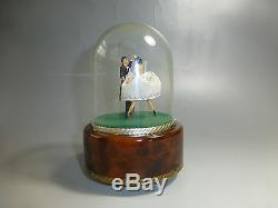 Reuge Dancing Couple Ballerina Music Box Automaton (watch The Video)