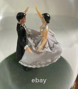 Reuge Dancing Wedding Couple Roses From The South Ballerina Music Box Vintage
