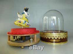 Reuge Danseur Louis Vuitton Dancing Ballerina Music Box Automaton Large Model