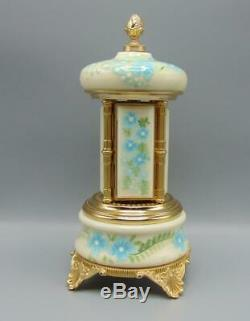 Reuge Greensleeves Music Box Italy Cigarette Carousel Hand Painted Signed