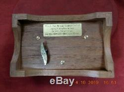 Reuge L' Auberson Solid Walnut 2/36 Note Music Box Excellent Condition (video)
