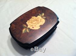 Reuge Lady Bug Hand Inlaid in Italy Music Box With 30 Nt MVT-Blue Danube