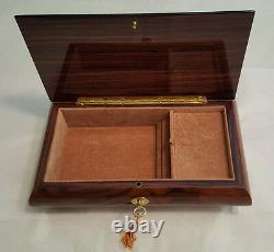 Reuge Large Musical Jewelry Box With 30NT MVT- Waltz of the Flowers