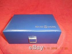 Reuge Limited Edition 925 Swiss Sterling Silver Singing Bird Box Circa 1995