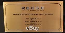 Reuge Mouvement Sublime Harmonie 144 Lames 3 Melodies J. Brahms $5800