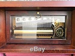 Reuge Music 3.72 Note Musical Jewelry Box Tchaikovsky Nutcracker 3 tunes LARGE