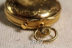 Reuge Music Antimated Pocket Watch