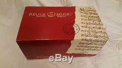 Reuge Music Antique Finish Singing Birds Automation Birdcage